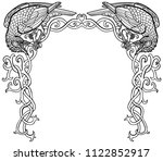 vector illustration of two... | Shutterstock .eps vector #1122852917