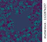 rhombus blue minimal geometric...   Shutterstock .eps vector #1122876257