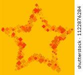 rhombus yellow minimal...   Shutterstock .eps vector #1122876284