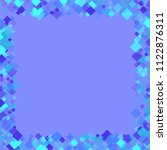 rhombus violet minimal... | Shutterstock .eps vector #1122876311