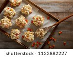 Popcorn Balls With Candy Corns