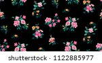 seamless floral pattern in... | Shutterstock .eps vector #1122885977