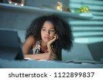 african american college... | Shutterstock . vector #1122899837