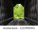 An Old Rustic Train Bridge In...