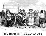 miss of montpensier fired the... | Shutterstock . vector #1122914051