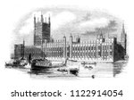 the new houses of british... | Shutterstock . vector #1122914054