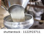 milking of a cow and technical...   Shutterstock . vector #1122923711