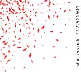 confetti of two colored rhombs... | Shutterstock .eps vector #1122925904