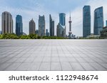 panoramic skyline and modern... | Shutterstock . vector #1122948674