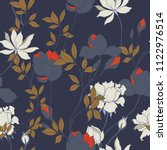 abstract elegance pattern with... | Shutterstock .eps vector #1122976514
