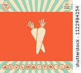 carrots symbol icon   Shutterstock .eps vector #1122984254