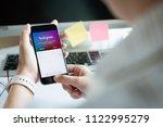 chiang mai  thailand   june 15  ... | Shutterstock . vector #1122995279