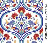 seamless colorful patchwork in...   Shutterstock .eps vector #1122996761