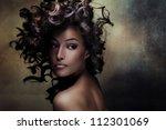 Beautiful Black Young Woman...
