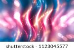 abstract pink background with... | Shutterstock . vector #1123045577