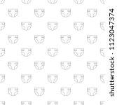 diaper background from line... | Shutterstock .eps vector #1123047374