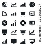 set of vector isolated black... | Shutterstock .eps vector #1123068227