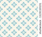 seamless vector decorative... | Shutterstock .eps vector #1123110131