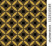 seamless vector decorative... | Shutterstock .eps vector #1123110185