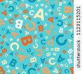 seamless vector pattern  ... | Shutterstock .eps vector #1123115201