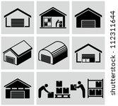 warehouse | Shutterstock .eps vector #112311644