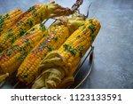 native american cuisine ... | Shutterstock . vector #1123133591