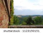 lucignano d'asso  montalcino ... | Shutterstock . vector #1123150151
