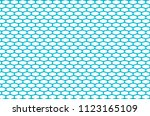 abstract pattern blue net on... | Shutterstock .eps vector #1123165109