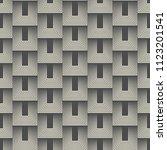 seamless tiled design. dark... | Shutterstock .eps vector #1123201541