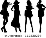 vector collection of... | Shutterstock .eps vector #112320299