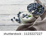 Healthy Breakfast With Yogurt...