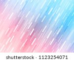 light blue  red vector texture... | Shutterstock .eps vector #1123254071