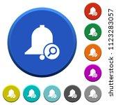 find reminder round color... | Shutterstock .eps vector #1123283057