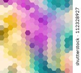 Optical Colorful Background