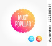 most popular commercial... | Shutterstock .eps vector #1123385684