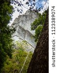 temple i  el gran jaguar one of ... | Shutterstock . vector #1123389074