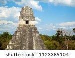 temple i  el gran jaguar one of ... | Shutterstock . vector #1123389104