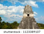 temple i  el gran jaguar one of ... | Shutterstock . vector #1123389107