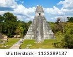 temple i  el gran jaguar one of ... | Shutterstock . vector #1123389137