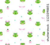 Cute Frogs And Dragonfly...