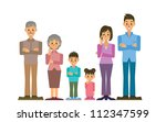 family | Shutterstock .eps vector #112347599
