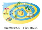 """summer holiday on the bank of... 