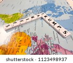 reading  berkshire  england  ... | Shutterstock . vector #1123498937