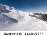 canin  kanin    sella nevea is...   Shutterstock . vector #1123509977
