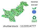ecology pakistan map... | Shutterstock .eps vector #1123514777