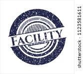 blue facility distress grunge...   Shutterstock .eps vector #1123581611