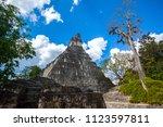 temple i  el gran jaguar one of ... | Shutterstock . vector #1123597811