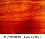 teak wood  tectona grandis ... | Shutterstock . vector #1123624574