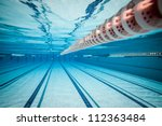 swimming pool under water ... | Shutterstock . vector #112363484