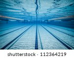 swimming pool under water ... | Shutterstock . vector #112364219